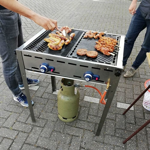 Gasbarbecue/grill 740x612x825mm (GREEN FIRE) 2