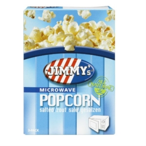 Jimmy's Magnetron Popcorn ZOUT